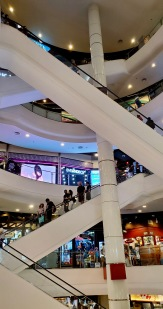 Multiple floors of Terminal 21