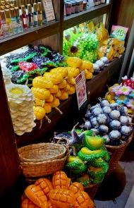 Fruit shaped soap.