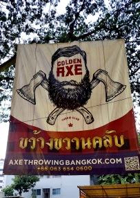 Axe throwing game!