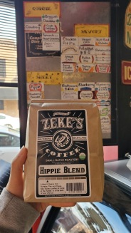 Hippie Blend (Light Roast) from Baltimore, MD.